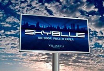 Slika za SkyBlue Poster Paper 120