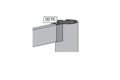 Slika za Alusign Outdoor profil za dodatni kanal okruglog stupa