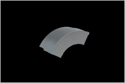 Slika za SIGNax framAL, PVC poklopac za oble vanjske kutnike