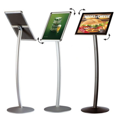 "Slika za M&T Display menu stalak ""Curved"""