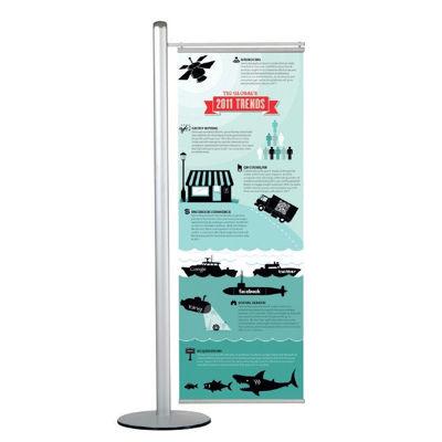 Slika za M&T Displays stalak za plakate -