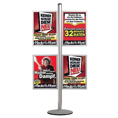 Slika za M&T Displays Free Standing Banner Set - Slide-in Frame