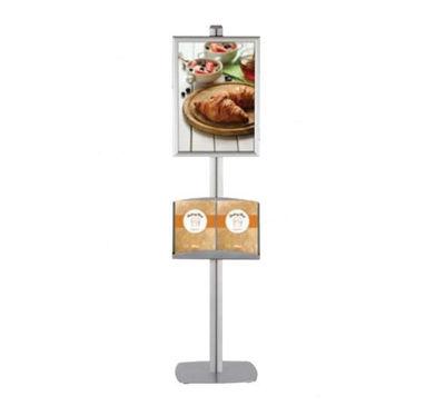 Slika za M&T Displays Free Standing Banner Set - Clik-Clak Frame